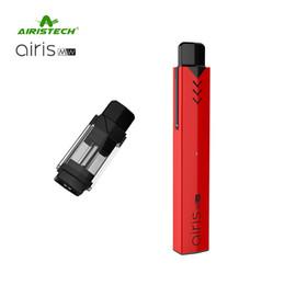 Wholesale e cigarette oil kit - 1pc Original Airis MW Kits 420mAh E Cigarettes Wax  Oil Vaporizer 2 in 1 Vape Pen E Cigarettes Free Shipping