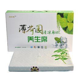 Wholesale range size - 2018 new summer mint magnetic therapy mat mosquito health for most people can be wholesale size range