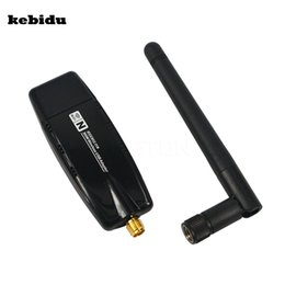 Wholesale Usb Wireless Network Adapter Linux - kebidu Hot 300 Mbps Wireless Adapter USB 2.0 WiFi 2.4G Network Lan Card With Antenna Realtek 8191 for windows XP Vista 7 8 Linux