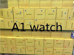 telefono rosa android guardare Sconti A1 smartwatch Smart Watches Prezzo basso Bluetooth Wearable Men Women Smart Watch Mobile con fotocamera per smartphone Android Smartwatch Camera