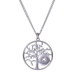 Argentina Nuevo Estilo Noosa Snap Jewelry Tree Of Life 18 MM botón de botón a presión para las mujeres joyería del botón a presión supplier tree life snaps Suministro