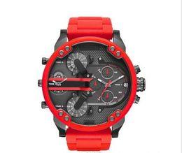 Argentina 100% reloj original movimiento cronógrafo DZ7312 DZ7314 DZ7315 DZ7332 DZ7333 DZ7350 DZ7370 DZ7371 Top lujo marca reloj militar deportes Suministro