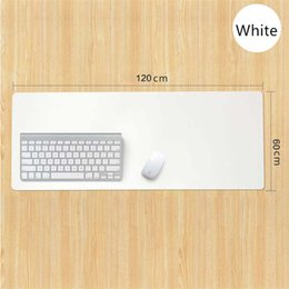Wholesale blue mouse mat - 90X40CM Ultra Large PU leather Keyboard Mat Professional Gaming Mouse Pad Mat for Dota 2 LOL CSGO Game Player Mouse Mousepad