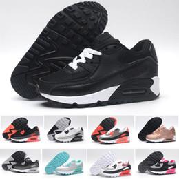 Canada Nike air max 90 Designer New Brand Enfants Chaussures Bébé Enfant Vapor Classic 90 Enfants Garçon et Gril Sport Sneaker Chaussures De Basket-ball Eur 28-35 supplier boys branded shoes Offre