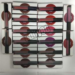 Wholesale Lip Liner Sets - Beauty Lip Gloss Lipstick set Lipstick + Lipliner Easy to Wear for Makeup Lip Contour Lip Liner kit 16 colors