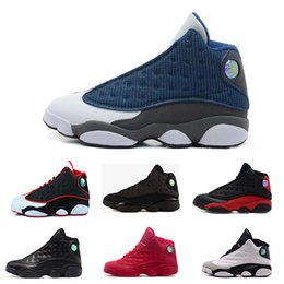 Wholesale Top China Shoes - [With Box]2017 New Air Retro 13S China mens basketball shoes top quality outdoor sports shoes for men many colors US 8-13 Free Drop Shipping