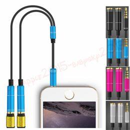3.5mm Audio Splitter Jack Câble Mâle à 2 Femelle Écouteurs Câbles d'Extension Casque Microphone Adaptateur pour iphone ipod mp3 pc Ordinateur Portable ? partir de fabricateur