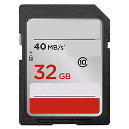 Wholesale Camera Sdhc Card - 2018 new style 16GB 32GB 64GB 128GB Class 10 UHS-I SD 80MBs Memory Card For Shoot Camera Camcorders