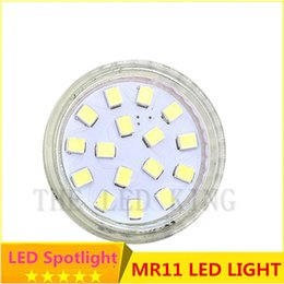 Wholesale Led Mr11 5w - Super Bright Dimmable Mini MR11 LED Spotlight Bulb SMD2835 12V 4W 5W 7W 12 18 24leds Replace Halogen 30W G4 lamp
