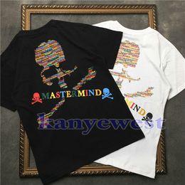 Canada 2018 hotselling Mastermind Japon MMJ Runway t-shirt Crâne impression T-shirt Hommes Coton T-shirts t-shirts Hiphop Streetwear Hommes À Manches Courtes T-shirt cheap japan printed t shirt men Offre