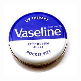 Wholesale lip therapy - Stock Makeup brand Vaseline Lip therapy cocoa butter for soft glowing rosy lips Hydrating Petroleum jelly moisturizing Lip balm lip cream