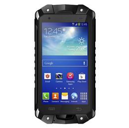 Wholesale Cheap 8gb Usb - Cheap LEMHoov L15 IP68 Tri-proof phone Rugged Android MTK6582 Quad Core NFC GPS Dual sim UHF VHF Walike Talkie mobile phone