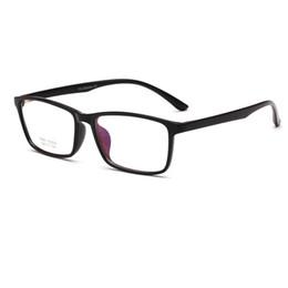 010b286ceb8 2018 new Good Quality TR90 Square Frame Eyeglasses Frames Very Llight Men  Women Optical Plain Mirror Eye Glasses Frame for Myopia Glasses