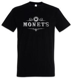 Monet's I T-Shirt 13 Sinal Símbolo Logotipo Razões Cafe Restaurante Por Hannah Diner Cool Casual orgulho t shirt homens Unisex Moda de