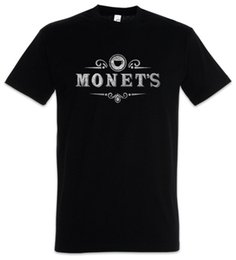 Monet's I T-Shirt 13 Sign Symbol Logo Reasons Cafe Restaurant Perché Hannah Diner Cool Casual orgoglio t shirt uomo Moda unisex da
