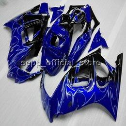 Wholesale Honda F3 Plastics - blue CBR600RR F3 97-98 ABS plastic kit motorcycle Fairing for HONDA F3 1997 1998