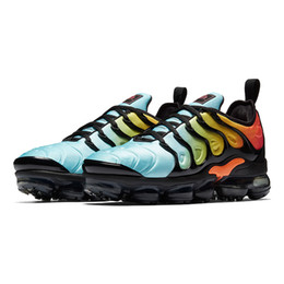 Wholesale new winter - HOT SALE 2018 New Vapormax TN Plus VM In Metallic Olive Women Men Mens Running Designer Luxury Shoes Sneakers Brand Trainers