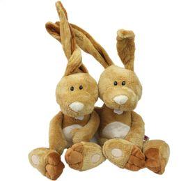 Wholesale Big Ear Bunny - 1pc 35cm NICI Counters Genuine Easter Bunny Big Long Ears Rabbit Children Favorite Plush toy Birthday Gift