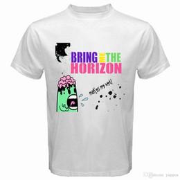 Männer nass weiß online-New Bring Me The Horizon * Macht mich nasse Rockband Männer Weißes T-Shirt Größe S-3XL