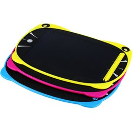 Wholesale New Pad For Kids - New Arrival 8.5 inch LCD Writing Tablet Drawing Board Blackboard Handwriting Pads Gift for Kids Paperless Notepad Whiteboard sunshine smile