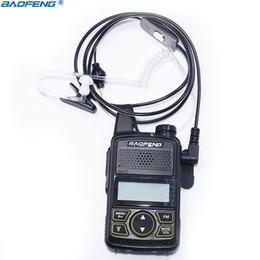 2019 radios de tubo Baofeng 1 Pin Covert Air Auricular acústico para auriculares de tubo para Baofeng Walkie Talkie BF-T1 UV-3R Plus Radio de dos vías Radio CB radios de tubo baratos