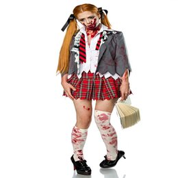 vampire games Promo Codes - Halloween Cosplay Cosplay, Stage Performance Game, Resident Evil, Zombie Vampire Student Wear Sets, Girls' Dress Suits