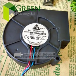 Wholesale Aluminum Oven - The original Delta BFB1012EH industrial blower or Burn oven blowing turbo blower fan 12V 2.94A 9733 with 3pin