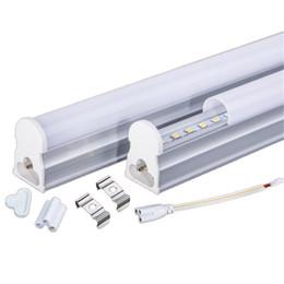 Ampoules t5 en Ligne-le tube t5 mené allume l'éclairage de refroidisseur intégré 1ft 2ft 3ft 4ft 5ft Le CREE a mené la garantie 110-240V d'ampoules de tubes de lumières 3 ans