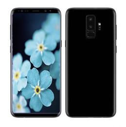 Wholesale Wholesale Malay Gold - ERQIYU Goophone 9 plus Fingerprint 6.2 inch full screen 16.0MP Smartphone shown 4G LTE 4G RAM 128GB ROM Unlocked Cell phone