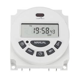 Argentina L701 12V / 110V / 220V LCD Control programable digital Interruptor de tiempo de encendido Interruptor de tiempo cheap programmable relay timers Suministro