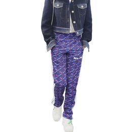 18ss Palmiye Melekler Fırtına Interweave Mektup Pantolon Restore Antik YollarıÜç Bar Kumaş Pantolon Getirmek Hip-Hop Eğlence Pantolon HFWPKZ063 nereden