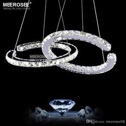 Moderno LED Diamante Colgante de Luz LED Cristal Iluminación Lustres Colgante Gota abajur Lámpara Para Comedor desde fabricantes
