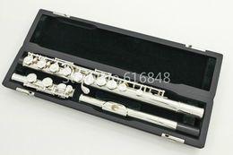 PEARL PF-665E 16-луночное закрытое C Tune Flute Cupronickel Посеребренная Флейта Музыкальный инструмент с футляром и аксессуарами от Поставщики никелевая флейта