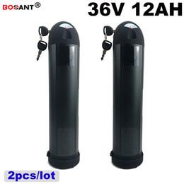 2pcs / lot Vélo Électrique Batterie Au Lithium 36V 12Ah Bouteille D'eau Style Batterie E-vélo Pour Bafang BBSHD 800W Moteur EU US AU aucune taxe ? partir de fabricateur