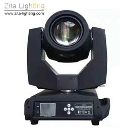 caso de luz de cabeza móvil Rebajas 2 Unids / lote Con Flight Case Zita Lighting 230 W Cabeza Móvil Luz 7R Sharpy Beam Etapa Iluminación Spot Spot DMX512 DJ Discoteca Fiesta Efecto