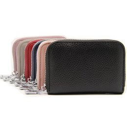 Wholesale Leather Men Wallet Pattern - New Unisex multi organ card card package can put the driver's license leather first layer of leather decorative pattern of