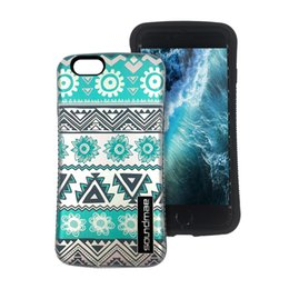 Wholesale mobile armor - Hybrid Printing Cover Rugged Heavy Duty Shock Absorption Bumper Tough Armor 2 in 1 Mobile Phone Case For Iphone 6 6s Plus
