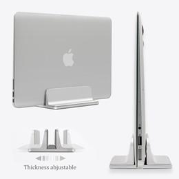 Canada Porte-monnaie réglable réglable en aluminium en aluminium pour ordinateur portable sur support pour ordinateur portable Support érigé pour MacBook Pro / Air Offre