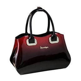 969d9c0a1c232 2018 neue Boston Kissen Tasche Hohe Qualität Helle Lackleder Damen Totes Schulter  Messenger Bags Handtaschen Frauen Berühmte Marken
