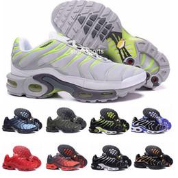 5d12ffe0273 2019 semelles eva 2018 Chaussures TN Chaussures De Course Pour Hommes