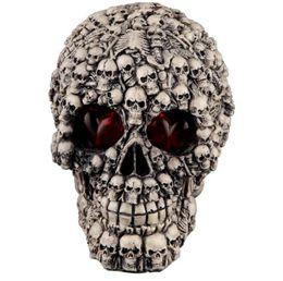 Halloween decorando resina cráneo divertidos juguetes desde fabricantes