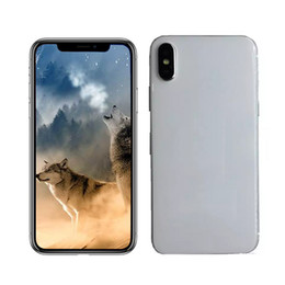 Wholesale 3g 1g - Goophone iX 5.5inch android smartphone MTK6580 quad core 1G 4G face ID 3G WCDMA show fake 4G LTE 256GB unlocked cell phones