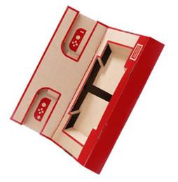 2019 ps4 usb hub 2018 лучшие продажи новый складной стенд оригами Labo DIY картон творения игры держатель Kit игрушки для NS переключатель бумаги Аркада кронштейн