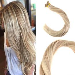 Balayage İnsan Saç I ucu Uzantıları 18/613 # I İpucu Fusion Prebonded Saç Uzantıları Sopa Keratin I İpucu Saç 100g nereden