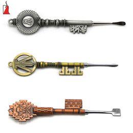 Pontas de cobre on-line-Carab cap dab ferramenta de ouro prata cobre cores vape ferramenta 7 estilo ponta ferramentas de escultura de cera para a erva seca dabber