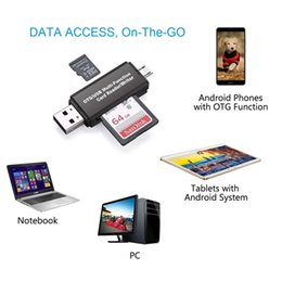 Argentina 3 en 1 i-Flash Drive Multi-Card OTG Reader Micro SD TF Memoria USB Card Reader Adapter para iPhone 8 7 6 Andriod PC supplier usb flash drive micro sd Suministro