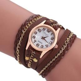 Браслеты для шпагата онлайн-designer jewelry bracelets watch for women twine around three times weave serpentine quartze watch hot fashion free of shipping
