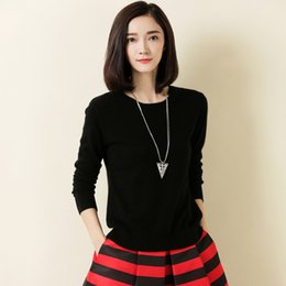 Wholesale White Cashmere Top - High-quality cashmere sweater, sweater for women knitted top sweater in winter strong autumn female sweater over-the-top