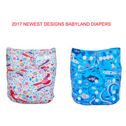Wholesale Nappies Patterned - Multi Pattern Bamboo Charcoal Diapers(10 Pieces A Lot)Pocket Bamboo Carbon Nappy Covers For Baby