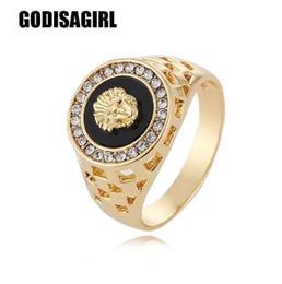 ouro chinês barato Desconto Nova Moda de Ouro e Prata Cores Clássicas Estilo Punk dos homens Anel de Hip Hop machos homem anéis de Dedo para mulheres dos homens Size7-12